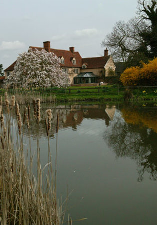 Dedham Hall accross the pond