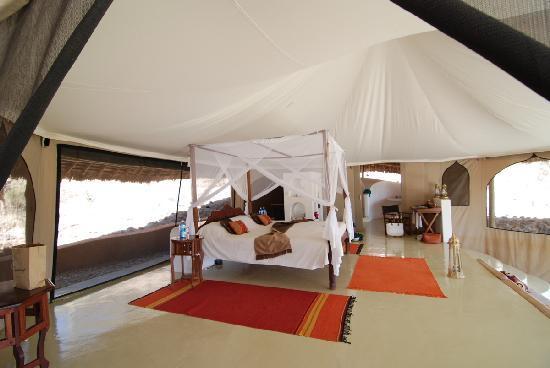 Sasaab Lodge: Room interior