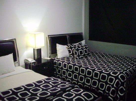 Wyndham Garden Panama Centro Hotel: Dormitorio de la habitación