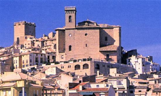 Moratalla, Spanien: Castillo e iglesia.