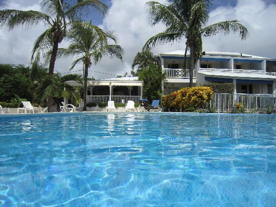 Hotel Amaudo: depuis la piscine