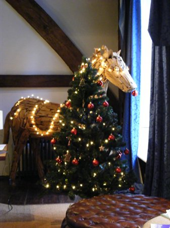 The White Horse Brasserie: Christmas Horse