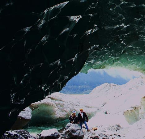 Above & Beyond Alaska: Another view of cave