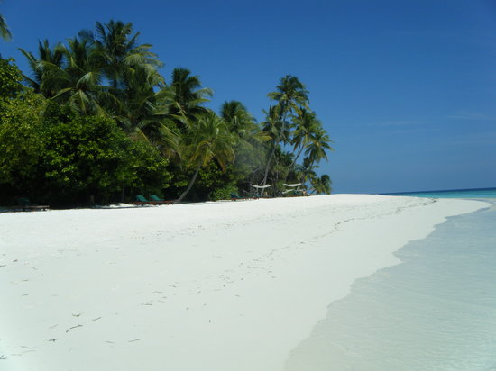 Dhunikolhu Island: We knew we'd paid nearly £5k for some reason!