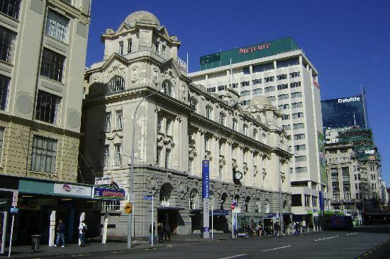 Mercure Auckland: Rue de l'hôtel