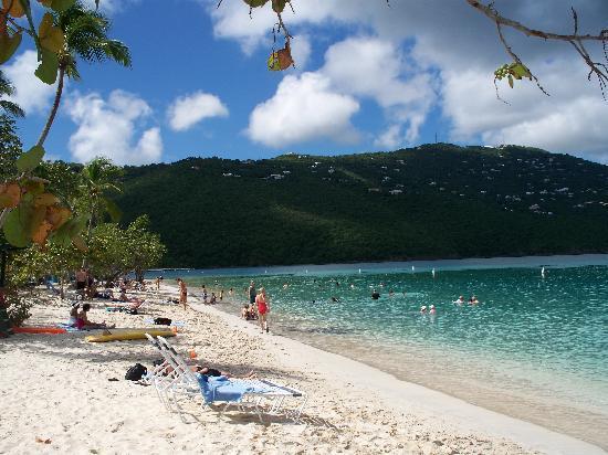 Magens Bay: beautiful beach