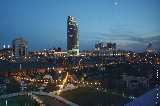 Rixos President Astana Hotel: View from room
