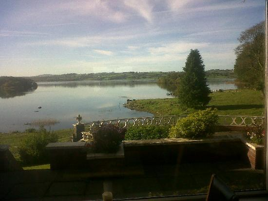 Virginia, Ireland: The lake from the dining room
