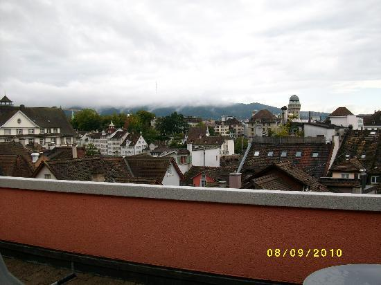 Best Western Plus Hotel Zuercherhof: Room 401 - rooftop patio