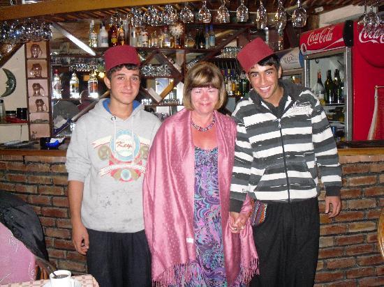 Gul Restaurant: The lovely waiters
