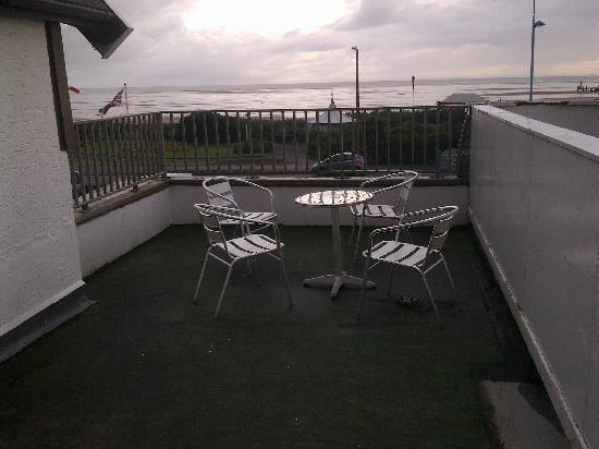 St. Ives Hotel: sea view