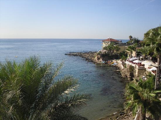 Beach House Hotel: veiw from our balcony