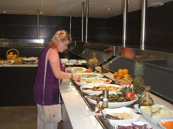 Aparthotel Cap de Mar: Das Abendessen