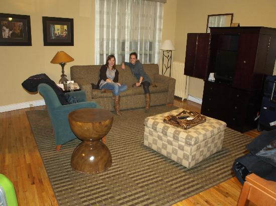 Best Western Plus Hospitality House: vista del salon