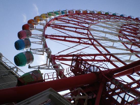 Minato, Japan: Huge ferris wheel