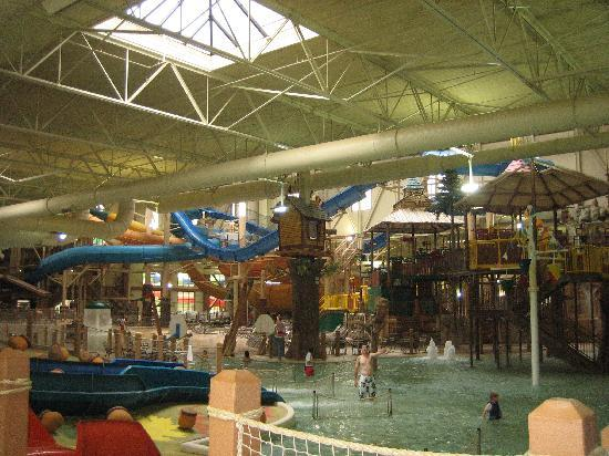 Great Wolf Lodge: The waterpark was MASSIVE! Lots of fun for grownups too!