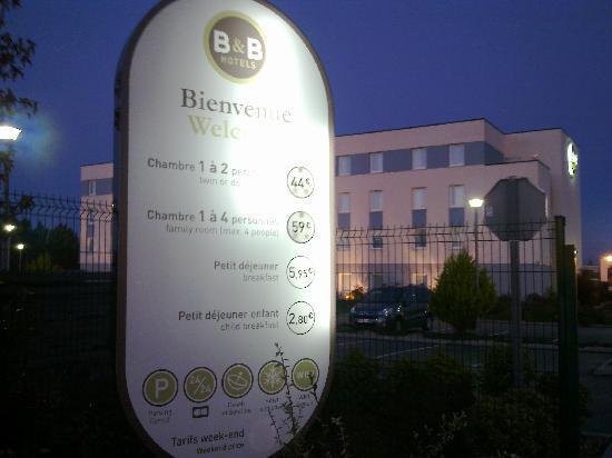 B&B Hôtel Evreux : prix