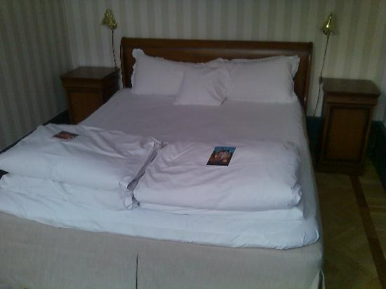 Clarion Hotel Wisby: Queen size bed