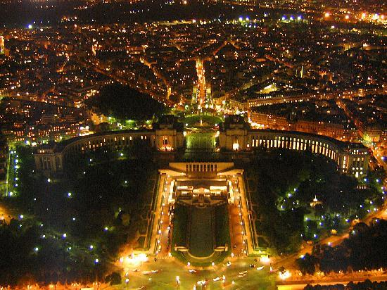 Paris, Frankrike: Night Trocadero