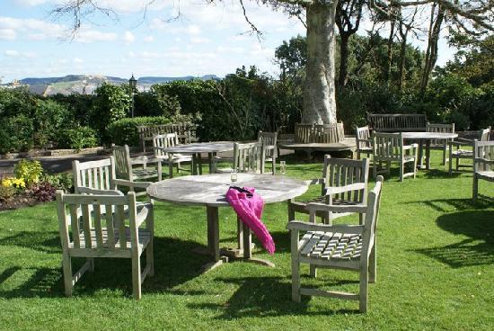Lyme Regis, UK: garden