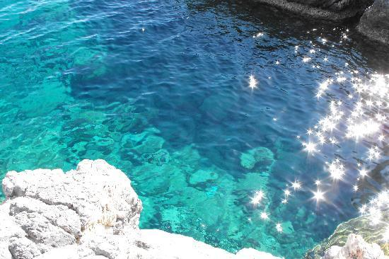Lindos Sun Hotel: crystal clear waters