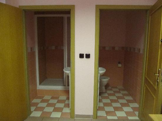 PLUS Prague: bathroom