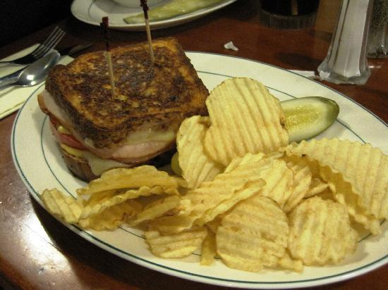 Sutton's Marketplace: One of the grilled sandwiches