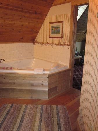 The Black Walnut Guest House: hot tub