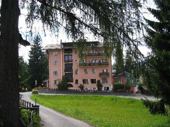 Hotel Cresta: Main house