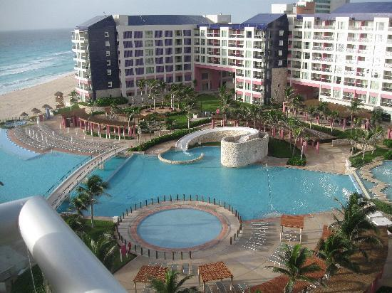 View From Our Villa Picture Of The Westin Lagunamar Ocean Resort Villas Amp Spa Cancun Cancun