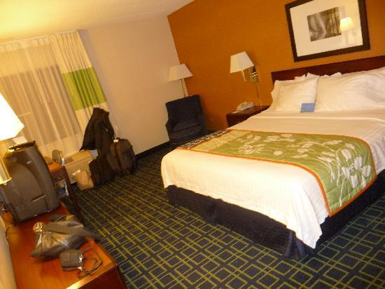 Fairfield Inn Boston Woburn/Burlington: camera