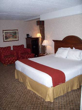 Holiday Inn Express Flint: The King