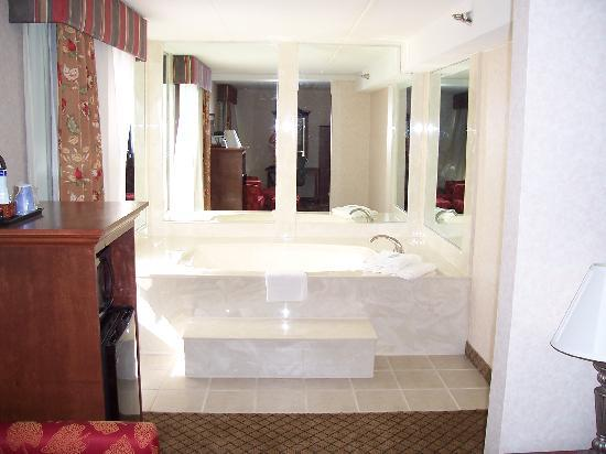 Holiday Inn Express Flint: Jacuzzi Area