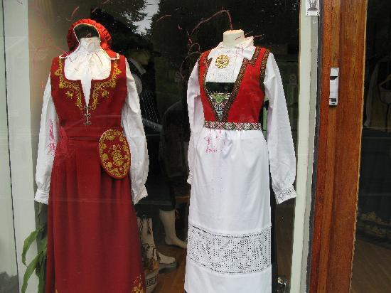 Oslo, Norway: traditional dress