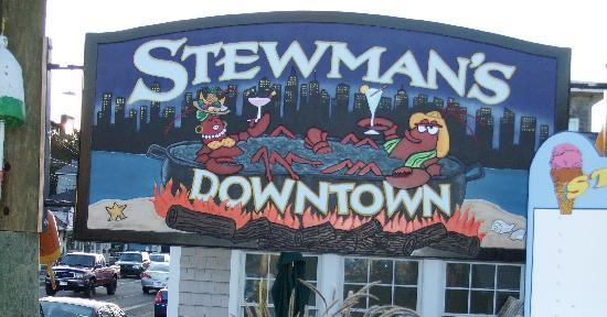 Stewman's sign