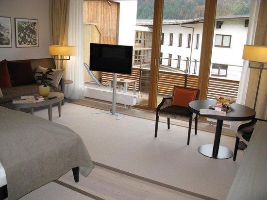 Travel Charme Ifen Hotel: Blick ins Zimmer