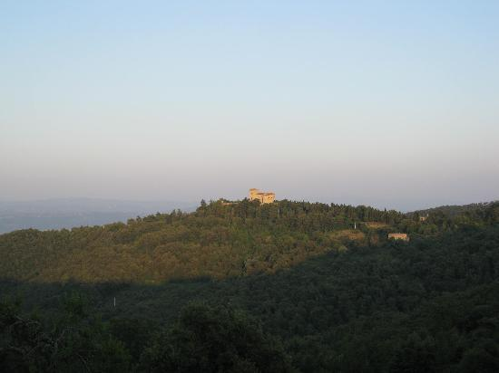 Le Radici Natura & Benessere: View at sunset
