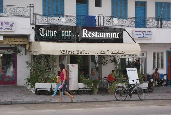Time Out Restaurant : Here it is
