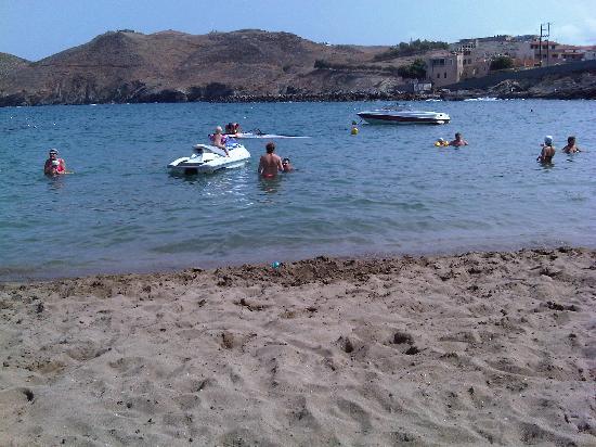 Club Marine Palace: Hotel beach