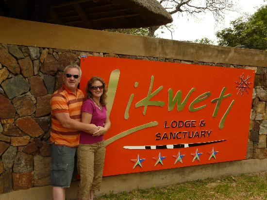 Likweti Lodge : Entrance
