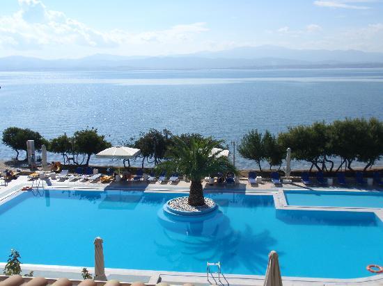 Negroponte Resort Eretria : view from my balcony