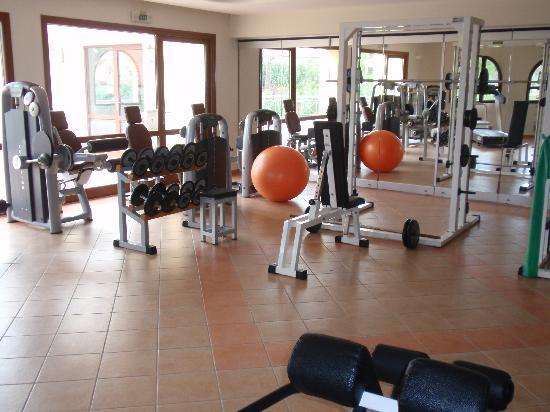 Negroponte Resort Eretria : nice fitness room with pool and sauna
