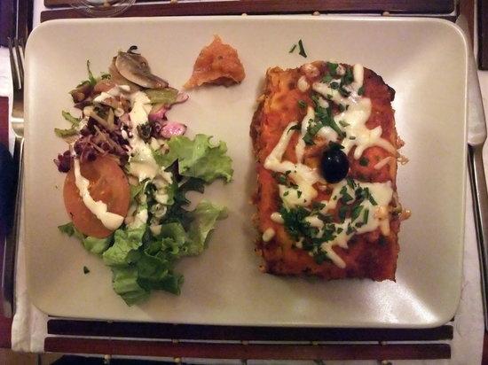 Jardim dos Sentidos: Four Cheese Lasagna