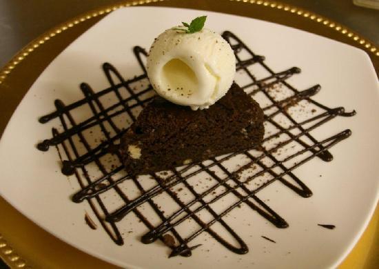 Castle Lodge Hotel: Decadent desserts