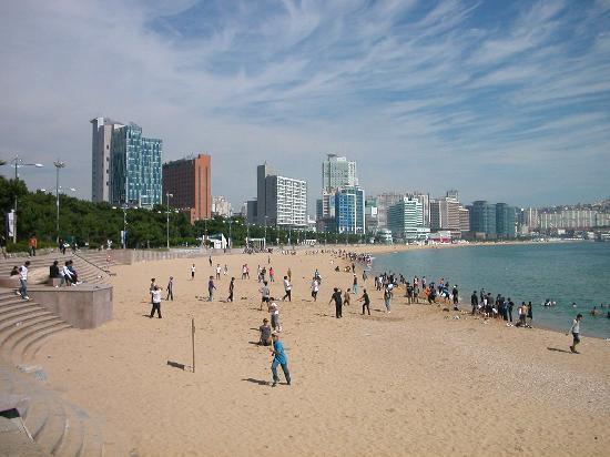 Haeundae Beach: ビーチ