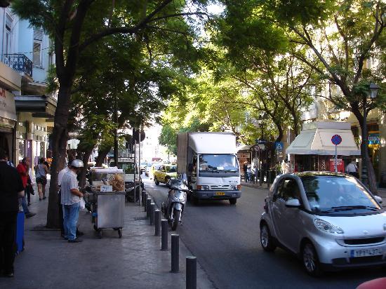 Economy Hotel: Athinas Street