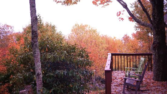 Archer's Mountain Inn: View of the Colors from the Main Deck