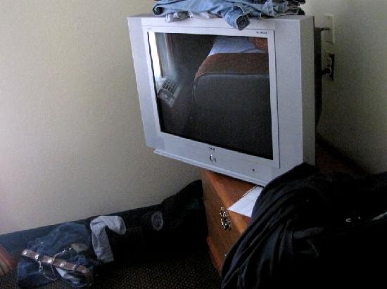 BEST WESTERN Ridgeland Inn: TV hanging over dresser
