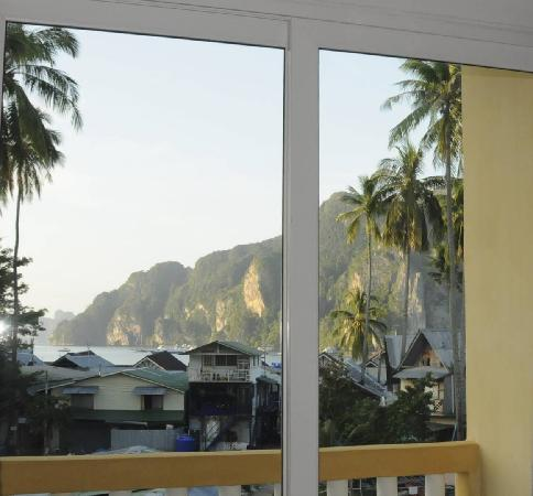 PP Insula: View from the room facing Ton Sai bay
