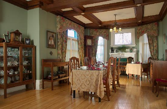 The Old Rectory: Edwardian Dining Room